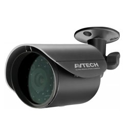 AVTECH AVC158 CAMARA BULLET/ D&N/ 700 TVL/ 1/3 COLOR CCD HR/ LENTE 3.6MM/ 21 LEDS IR/ 15 METROS/IP67 [48144]
