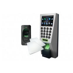 ZK PACK4218MF - F18MFYFR1200 /CTRL DE ACCESO PROF ENTRADA Y SALIDA/ TARJETAS MF/ 3000 HUELLAS/ 50000 REGISTROS/ TCPIP/