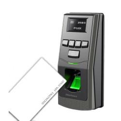 ZK F6ID- CONTROL DE ACCESO PROFESIONAL/ 500 HUELLAS/ 30000 REGISTROS/ 12VDC