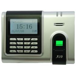 ZK A10 USB SAC - CONTROL DE ASISTENCIA & ACCESO SIMPLE/ 1500 HUELLAS/ 50000 REGISTROS/ TCPIP/ USB/