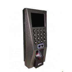 ZK F18 - CONTROL DE ACCESO PROFESIONAL/ 3000 HUELLAS/ 30000 REGISTROS/ TCPIP/ USB/ 12VDC