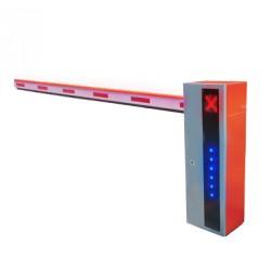 Barrera Vehicular Serie X de Alta Velocidad Iluminada y Sensor de Impacto, Incluye Brazo de 5M, Izquierda