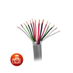 Cable 3 Pares 22 AWG para Aplicaciones de Control de Acceso.