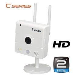 VIVOTEK IP8133W - CAMARA IP HD INTERIOR/ INALAMBRICA/ 1 MEGAPIXEL/H.264/AUDIO/SENSOR PIR/LUZ BLANCA/24 MESES GTIA