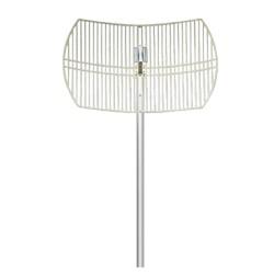 Antena para Red Inalámbrica (Banda de 2.4 GHZ). Tipo Rejilla.