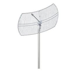Antena para Red Inalámbrica (Banda 5.7 a 5.8 GHz). Tipo Rejilla.
