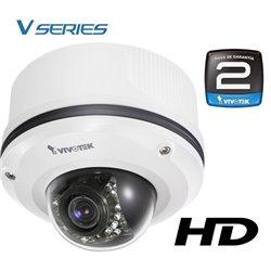 VIVOTEK FD8361- CAMARA IP DOMO ANTIVANDALICA HD 2 MEGAPIXELES/ H264/ VARIFOCAL 3 A 9MM/ IR 20 MTS/POE/24 MESES GTIA