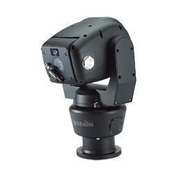 Cámara PTZ Punta de Poste alta velocidad, 700TLV, 37x de Zoom Óptico e IR inteligente motorizado para 100mts.