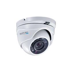 Domo Eyeball Interior/Exterior Antivandálico 900TVL UltraHR+ 2.0 IR Inteligente de 20M, Día y Noche Real, HDR, Color BLANCO