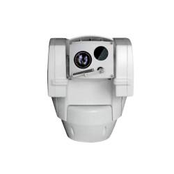 Cámara PTZ alta velocidad Día/Noche Real y cámara térmica interconstruida con lente de 25mm
