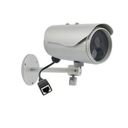 Cámara Bala HDTV 720p / 1MP Día/Noche Real para Exterior con LEDs IR.