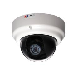 Domo IP de 4 MP con Zoom Remoto de 3.5X P-Iris y enfoque automático para Interior.