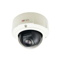 Minidomo PTZ 10X Zoom Óptico 5MP, para Exterior Antivandalismo.