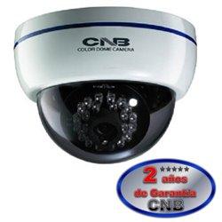 CNB LBM10S- CAMARA DOMO/ CCD 1/3/ 420TVL/ LENTE 3.8MM/ AWB/ AGC/ DNR/ 3 AXIS