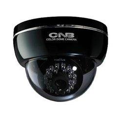 CNB LBM20SAN-CAMARA DOMO NEGRA ALTA RESOLUCION/ CCD 1/3/ 600TVL/ LENTE 3.8MM/ LUZ IR 15MTS/ 3 AXIS/AUDIO/AWB/ AGC/ DNR