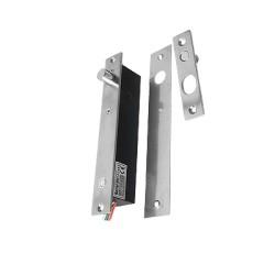 Cerradura de Perno 2000 kg de sujeción abierta en caso de falla con temporizador y sensor de puerta.