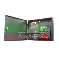 Panel de Control de Acceso IP para 2 Puertas. Incluye Fuente de 12VCD / 3A.