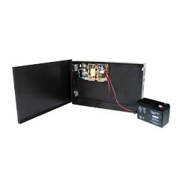Fuente de Alimentación para Control de Acceso de 13.8 Vcd /4.75 A con respaldo de Batería.