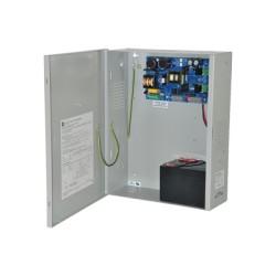 Fuente de alimentación con capacidad de respaldo de una salida a 12 Vcd, 10 Amper.