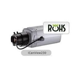 ICANTEK ICANVIEW230-CAMARA PROFESIONAL IP / RESOLUCION D1 / MPEG4/ POE/ SOBRE PEDIDO