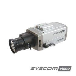 Solución con Lente para Visualización de Vehículos a 20 m. Lente 13VG2811ASIR de 2.8-11 mm.