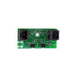 Protector contra sobretensiones RJ45 para circuitos de sirenas y bocinas.