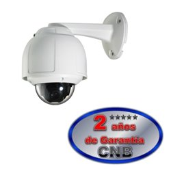 CNB SSM2065NW- MINI SPEED DOME PTZ / ZOOM 10X / 128 PRESET / 500 LINEAS DE TV/ CCD SONY/ IP65
