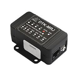 Protector modular para circuito IP video, transmisión Gigabit Ethernet, conexión RJ45 entrada / salida