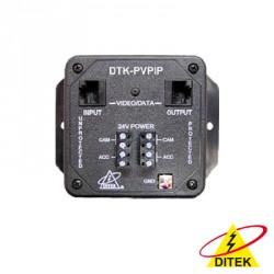 Protector para Cámara IP de puerto RJ45 y 24 Vca.