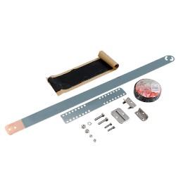 Kit de Aterrizaje para cables coaxiales (Aluminio o Galvanizado).