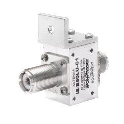 Protector Coaxial con ceja frontal. Conectores UHF Hembra.