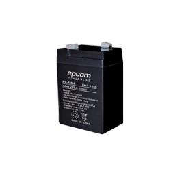 Bateria de 6 v a 4.5 Ah Compatibel con fuente ELKP624 para respaldo de modems de intente