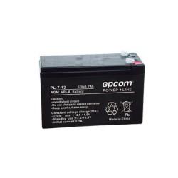 Batería con Tecnología AGM / VRLA, 7 Ah. (reemplazo de WP712P)