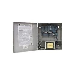 Fuente de alimentación de 24 Vca para conexión de cámaras de CCTV , 4 salidas y montaje de pared