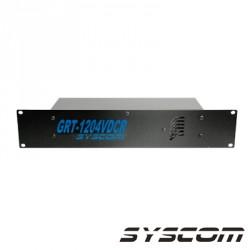 Fuente de poder para CCTV de 8 salidas a 12 Vcd. 5.2 Amp. con Extractor de Aire.