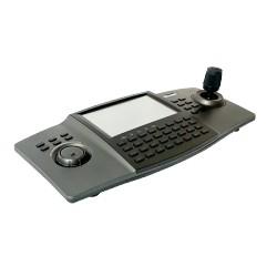 """Controlador IP para Cámaras, Domos IP / DVR ́s / NVR's, Pantalla Tactil 7""""."""