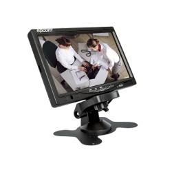 """Monitor LCD 7"""" ideal para colocar en vehículos o realizar pruebas de CCTV"""