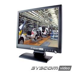 """Monitor LCD 24"""" (23.6 Visible) Profesional para CCTV."""