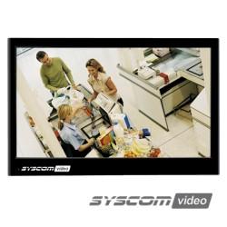 """Monitor HD LEDs 23.6"""" para CCTV Profesional (Aspecto 16:9)."""