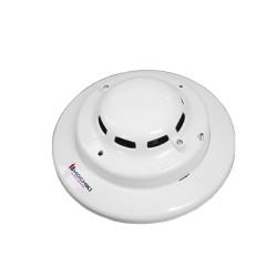 Detector fotoeléctrico de humo y temperatura fija de 4 hilos