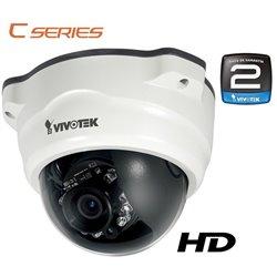 VIVOTEK FD8134V- CAMARA IP DOMO ANTIVANDALICA EXTERIOR HD 1 MEGAPIXEL/ IP66/ H.264/ POE/ IR 10MTS/ 24 MESES GTIA