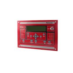 Anunciador Serial Para Paneles FireNET, para Aplicaciones Marinas, 320 Caracteres, Color Rojo