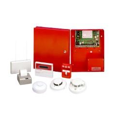 Panel Hibrido de Incendio e Intrusión, 2 Particiones, Hasta 32 zonas, Compatible con Alarm Net® y Total conectTM