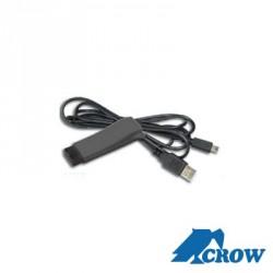 Interface de programación USB para paneles Crow serie RUNNERInterface de programación USB para paneles Crow serie RUNNER
