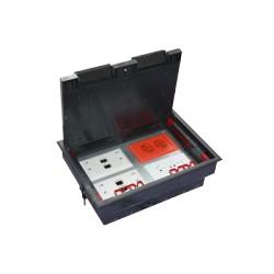 Caja de piso Socket 4M