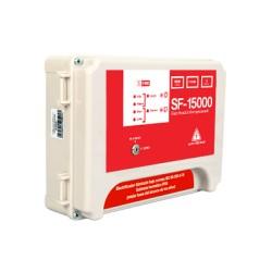 Energizador Robusto para cerca eléctrica de 2.8 a 3 Joules de energía, 3.64 a 6.9 Watts de consumo y Soporta baterías de 7Ah.