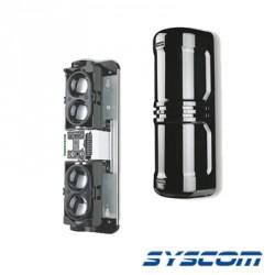 Detector de rayo fotoeléctrico para 100 mts. Incluye receptor y transmisor