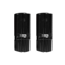 Detector Fotoeléctrico Industrial, 2 Rayos, Distancia de 300M Interior/ 100M Exterior.