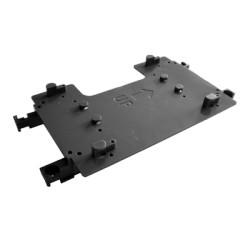 Sistema opcional de fijación para fotoceldas OPTEX en las carcasas BUNKER que facilita la instalación dentro de la carcasa.