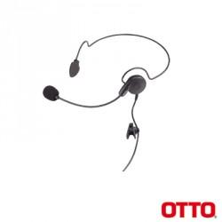 Diadema BREEZE para Motorola EP350/450/450S, MAGONE, MOTOTRBO: DEP450,XPR3000,CP200D. Hytera TC500/600